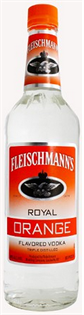 Fleischmann's Vodka Royal Orange 1.00l - Case of 12